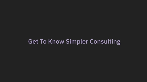 Thumbnail for entry Simpler Expertise Animation