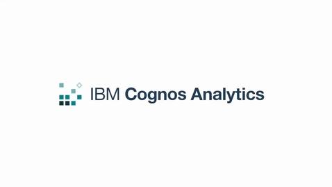 Thumbnail for entry Add DashDB to Cognos Analytics