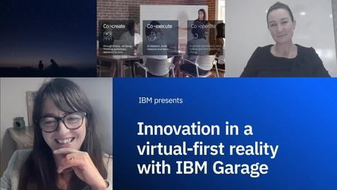 Thumbnail for entry L'innovation dans une réalité virtuelle d'abord avec IBM Garage