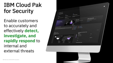 Thumbnail for entry Cloud Pak for Security v1.4 Demo Video
