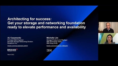 Thumbnail for entry Architecting for Success: Get Your Storage And Networking Foundation Ready to Elevate Performance And Availability