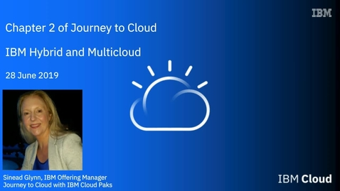 Thumbnail for entry Chapter 2 of Journey to Cloud, with IBM and featuring New Relic