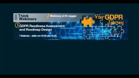 Thumbnail for entry GDPR Readiness Assessment and Roadmap Design