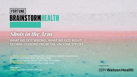 Thumbnail for entry Shots in the arm: Vaccine Management