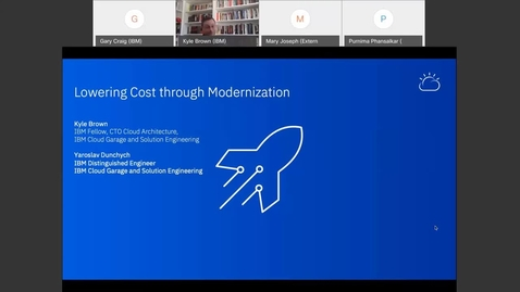 Thumbnail for entry Lowering costs through modernization - Thought Leaders Webinar Series