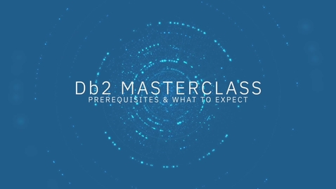 Thumbnail for entry Db2 ML Complete Masterclass