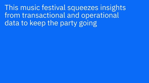 Thumbnail for entry The Skanderborg Music Festival + IBM: The future is beautiful at this summer festival