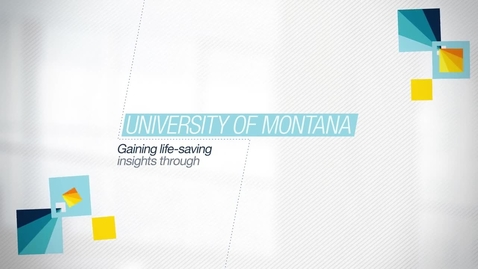 Thumbnail for entry University of Montana researchers use smarter insights to find life-saving solutions