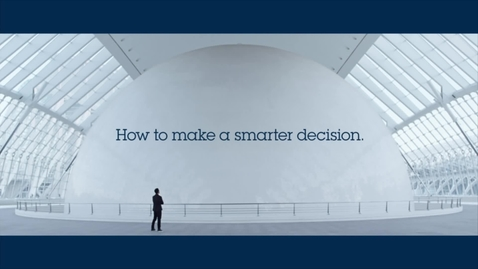Thumbnail for entry IBM Watson Analytics: How to make a smarter decision