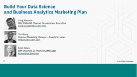 Thumbnail for entry Rev Up Your Marketing Engine with IBM Marketing and Data Science & Business Analytics-20180523