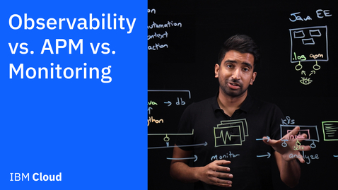 Thumbnail for entry Observability vs. APM vs. Monitoring