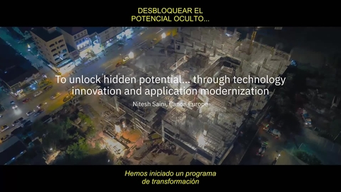 Thumbnail for entry Modernizing applications with IBM Hybrid Cloud technology_CO_ES