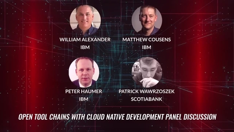 Thumbnail for entry Open Tool Chains With Cloud Native Development; Mainframe Development Conference Panel Discussion