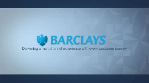 Thumbnail for entry Barclays deploys an IBM business process management solution to improve customer experiences