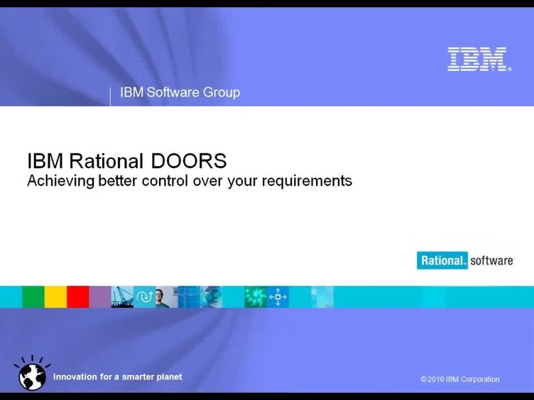 IBM Rational DOORS  sc 1 st  IBM MediaCenter & IBM Rational DOORS - IBM MediaCenter