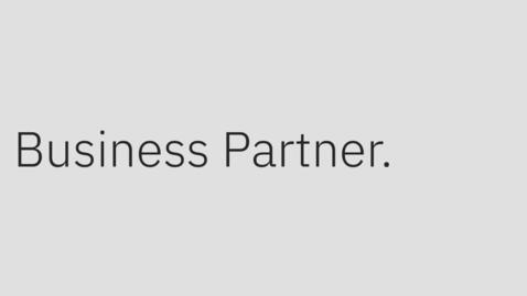 Thumbnail for entry Conozca los beneficios de la asociación IBM