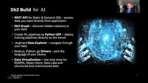 Thumbnail for entry Think 2020: IBM's Modern Data Stores