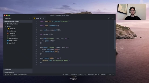 Thumbnail for entry 使用开源工具 OpenAPI Comment Parser 编写 API 文档