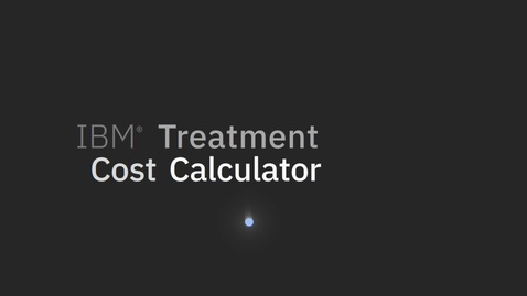 Thumbnail for entry Treatment Cost Calculator Product Video 2020