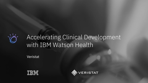 Thumbnail for entry Learn why Veristat trusts IBM Clinical Development with its critical studies, including COVID-19 and Ebola vaccines