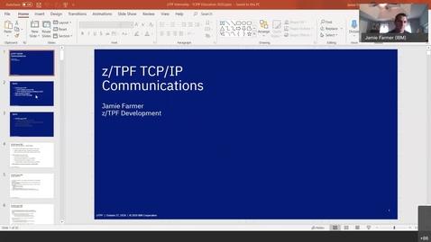 Thumbnail for entry z/TPF Internship: TCP/IP Communications