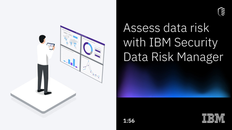 Thumbnail for entry Assess data risk with IBM Security Data Risk Manager
