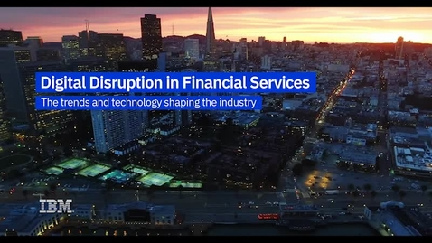 Thumbnail for entry LinuxONE Financial Services