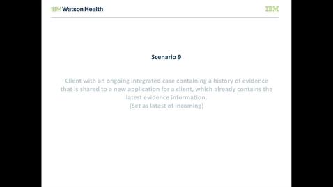 Thumbnail for entry IBM Cúram Social Program Management V7.0.2 evidence broker: Set as latest of incoming evidence