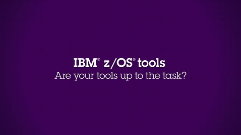Thumbnail for entry IBM z-OS Tools - CICS Tools and Problem Determination Tools