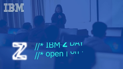 Thumbnail for entry Meredith Stowell - IBM Z Community Day Welcome and Kick-off