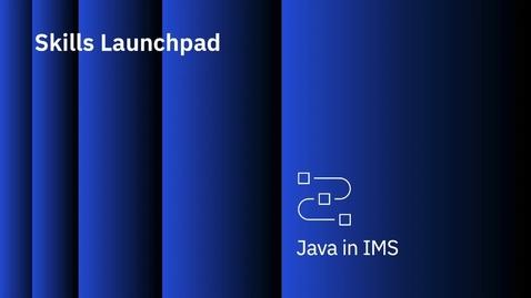 Thumbnail for entry IBM IMS application programming: JDBC application