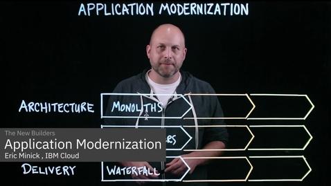Thumbnail for entry アプリケーションのモダナイゼーション  -3つの大きな変革-