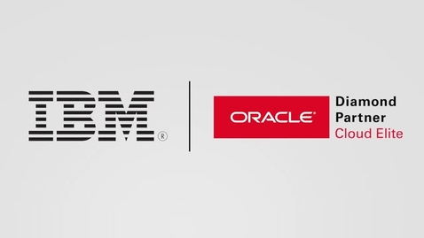 Thumbnail for entry ConnectOne Bank Transforms for Growth with IBM Services and Oracle