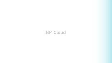 Thumbnail for entry IBM Cloud Event Management