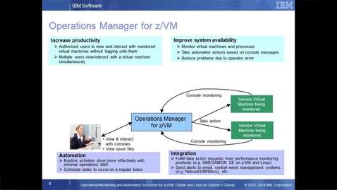 Thumbnail for entry Using Operations Manager for z/VM to View Live Consoles