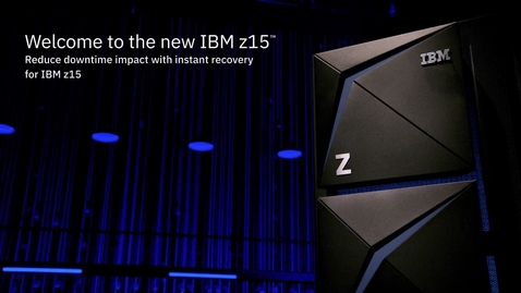 Thumbnail for entry Ray Wang and IBM's Matt Whitbourne discuss instant recovery on IBM z15