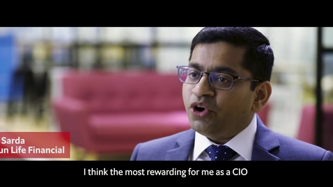 Thumbnail for entry Pioneering Leadership: Change Agent - Ritesh Sarda CIO SunLife Financial HK (social letterbox - English captioning)