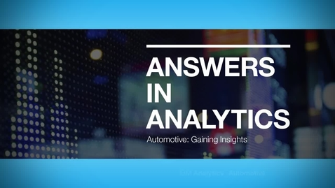 Thumbnail for entry Honda Automotive R&D center improves its R&D and operations with new insights from engineering data