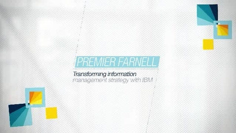 Thumbnail for entry Gain greater insights from your information with IBM® InfoSphere®