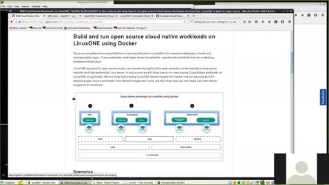 Thumbnail for entry Code Pattern: 在 Linux 大型机上运行云原生工作负载