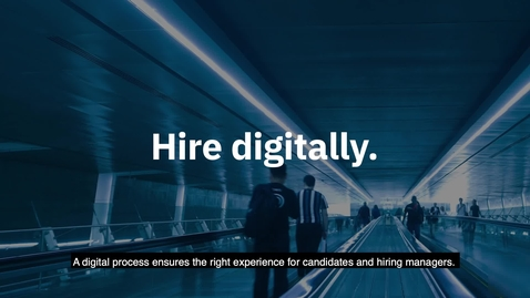Thumbnail for entry Hire quickly with IBM digital processes