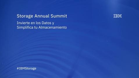 Thumbnail for entry Storage Annual Summit, entrevista a Juan Castillo