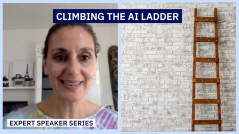 Thumbnail for entry Khadija Souissi - Climbing the AI ladder