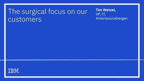 Thumbnail for entry Tim Wetzel, AmerisourceBergen, audiogram
