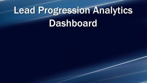 Thumbnail for entry Lead Progression Analytics Dashboard