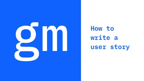 Thumbnail for entry Method Minute: How to write a user story