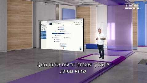 Thumbnail for entry #ThinkIsrael - Apply intelligence to discover processes. Demo with IBM Process Mining - Oren Attia, Digital Business Automation Leader, IBM Israel