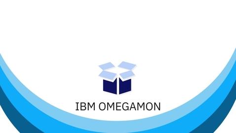 Thumbnail for entry IBM OMEGAMON - Monitoring on Z
