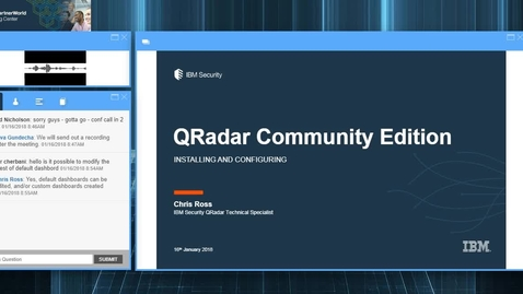 Thumbnail for entry QRadar Community Edition