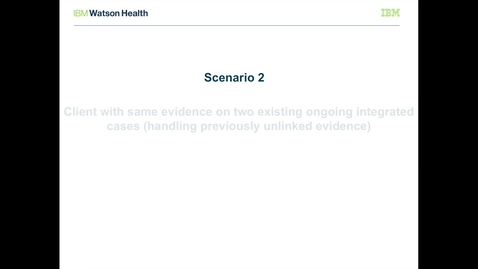 Thumbnail for entry IBM Cúram Social Program Management V7.0.2 evidence broker: Processing previously unlinked evidence